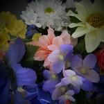 summer vase small closeup