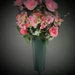 large summer vase flowers