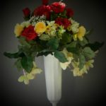 summer vase small roses