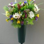 custom horse vase